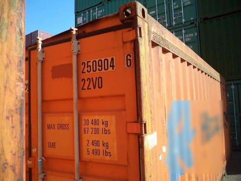 20 футовый контейнер 15 м2 фото