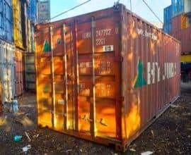 20 футовый контейнер Б/У ( в заводской краске)