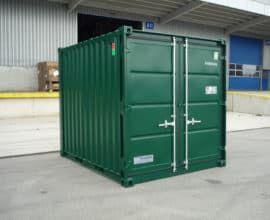 Морской контейнер 10 футов Dry Cube (10′ DC) стандартный, б/у