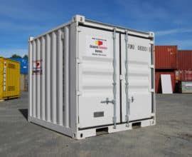 Морской контейнер 10 футов Dry Cube (10′ DC) стандартный