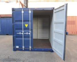 Морской контейнер 10 футов Double Door (10′ DD) c дополнительными дверями
