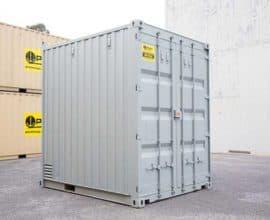Морской контейнер 10 футов High Cube (10′ HC) высокий, б/у