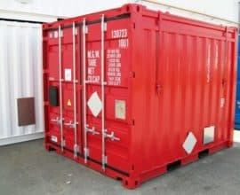 Морской контейнер 10 футов Hard Top (10′ HT) стандартный контейнер с жесткой крышей