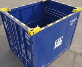 Морской контейнер 10 футов Open Top (10′ OT) стандартный открытый с брезентовой крышей