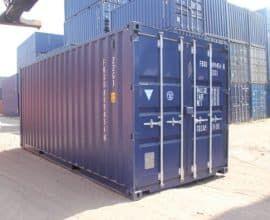 Морской контейнер 20 футов Dry Cube (20′ DC) DC