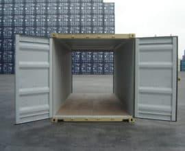 Морской контейнер 20 футов Double Dour (20′ DD) с дополнительными торцевыми дверями, новый