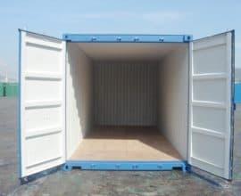Морской контейнер 20 футов High Cube Pallet Wide, высокий и широкий, б/у