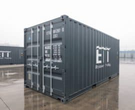 Морской контейнер 20 футов High Cube Pallet Wide, высокий и широкий