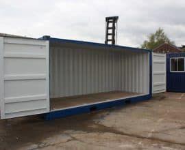 Морской контейнер 20 футов Open Side с дополнительной боковой дверью (20′ OS), новый