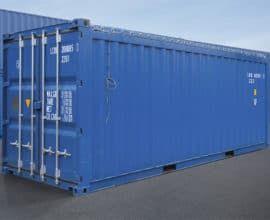 Морской контейнер 20 футов Open Top (20′ OT) с открытой крышкой, новый