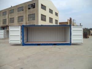 Морской контейнер для перевозки грузов