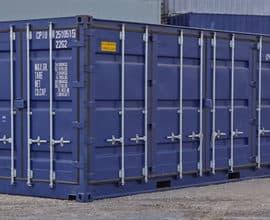 Морской контейнер 20 футов Side Door с дополнительной боковой дверью (20′ SD), новый