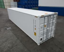 Морской контейнер 40 футов Double Door (40′ DD) с дополнительными торцевыми дверями