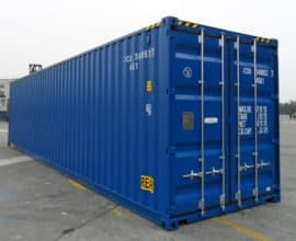 Размеры 40-футового контейнера HighCube