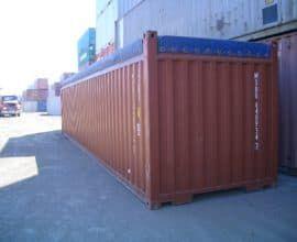 Морской контейнер 40 футов Open Top (40′ OT), б/у