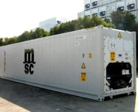 Рефконтейнер 40 футов (40′ RCHC Carrier), б/у, 2014 год