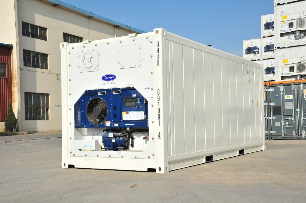Рефрижераторный контейнер 40 футов Daikin, б/у, 2005-2006 год