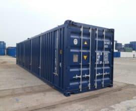 Б/у морской контейнер 40 футов Hard Top (40′ HT) с жесткой съемной крышей