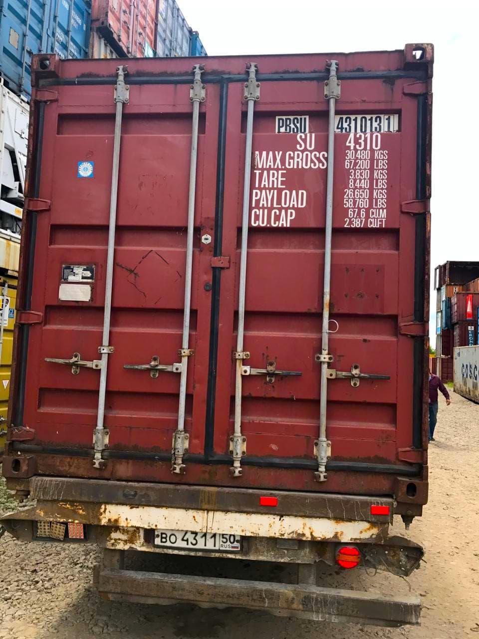 Морской контейнер 40 футов General Perpose (40′ GP) фото