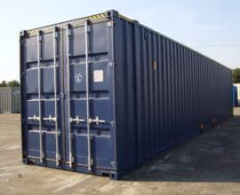 Морской контейнер 45 футов Dry Cube (45′ DC) стандартный, новый