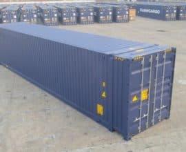 Морской контейнер 45 футов High Cube (45′ HC) высокий, новый
