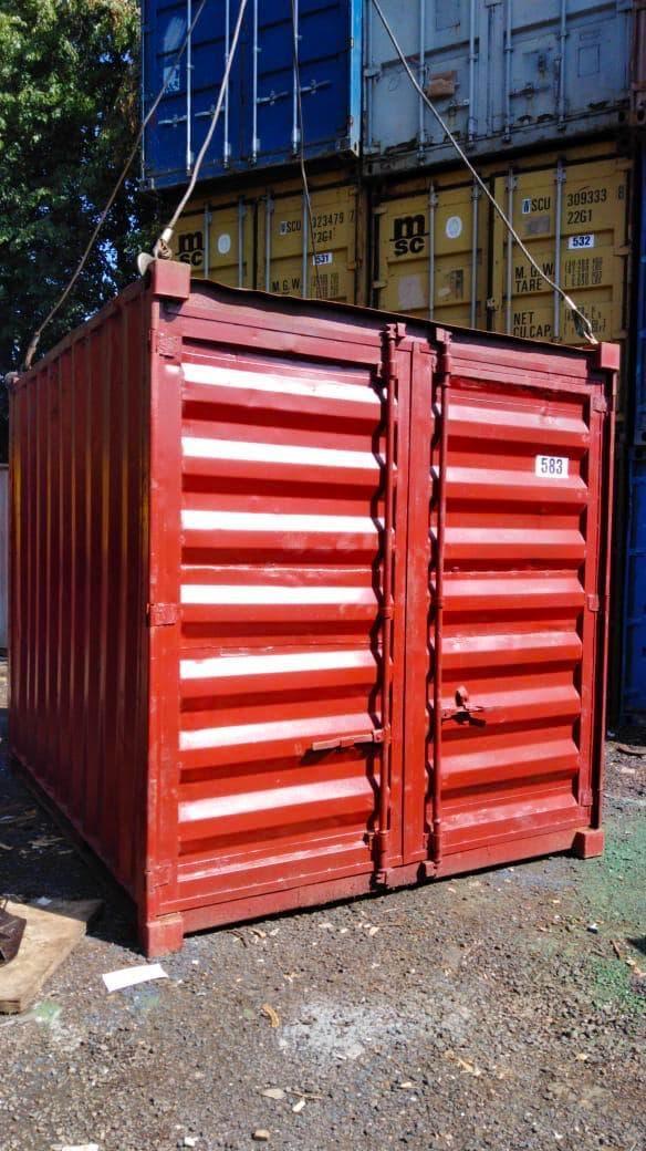 Морской контейнер 10 футов  (10′ DC) стандартный, б/у фото