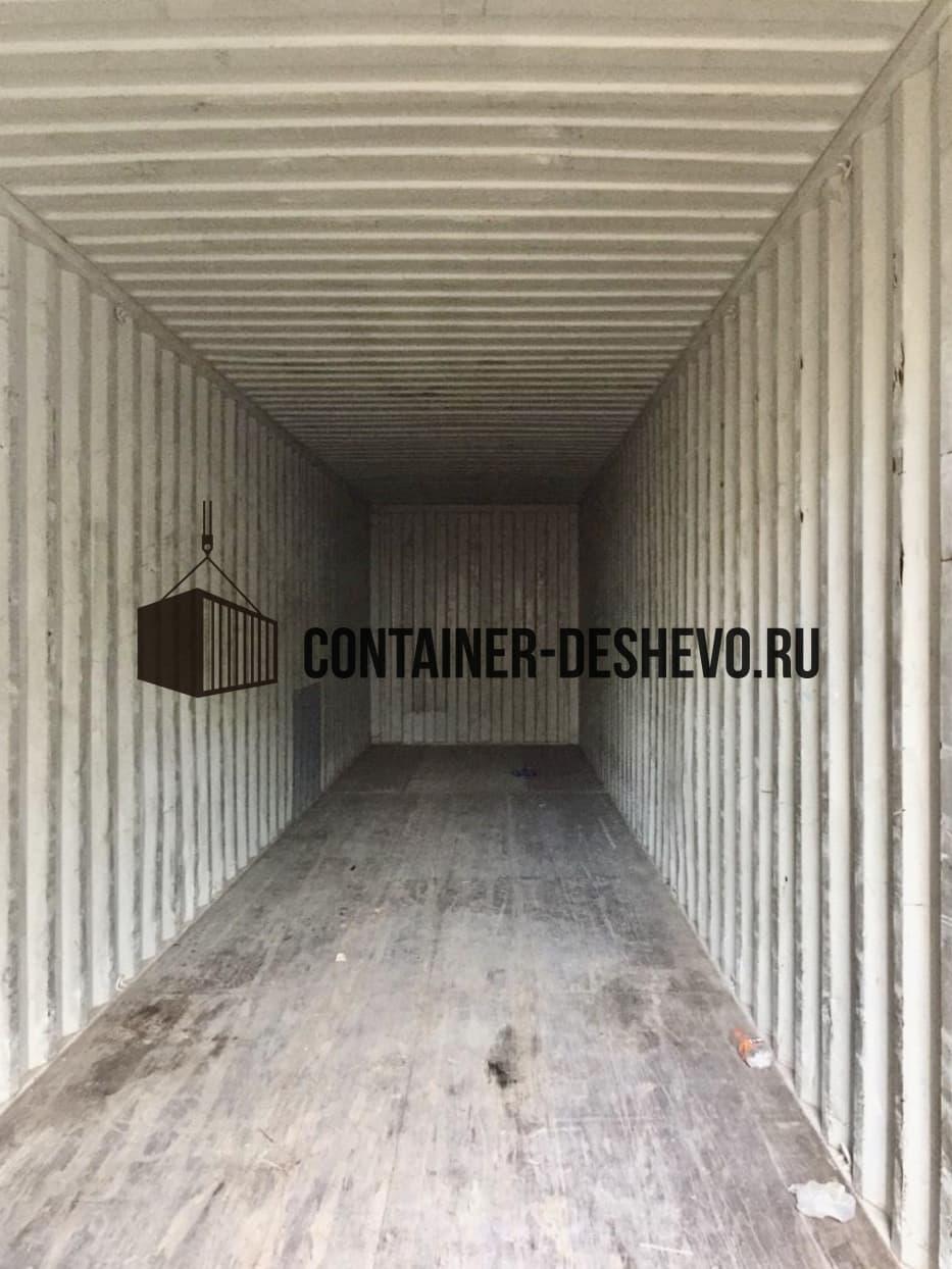 Морской контейнер 40 футов HC б/у  (996) фото
