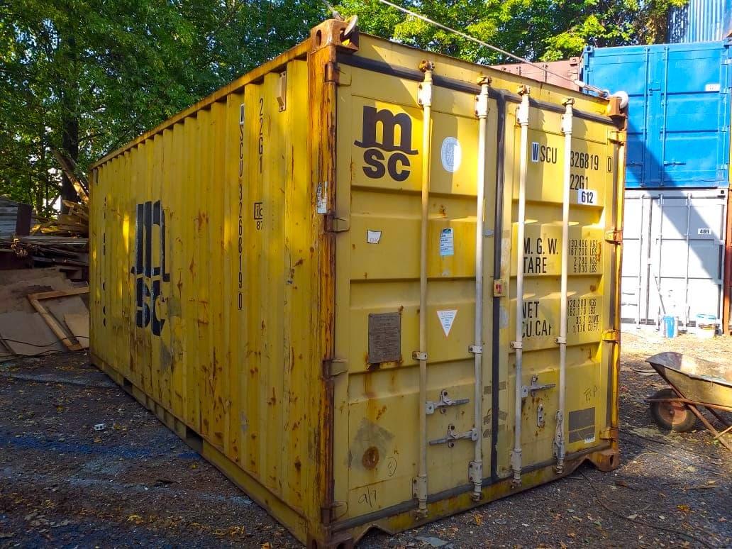 Морской контейнер 20 футов Dry Cube (20′ DC) DC фото