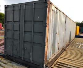 Морской контейнер 40 футов High Cube (40′ HC) высокий