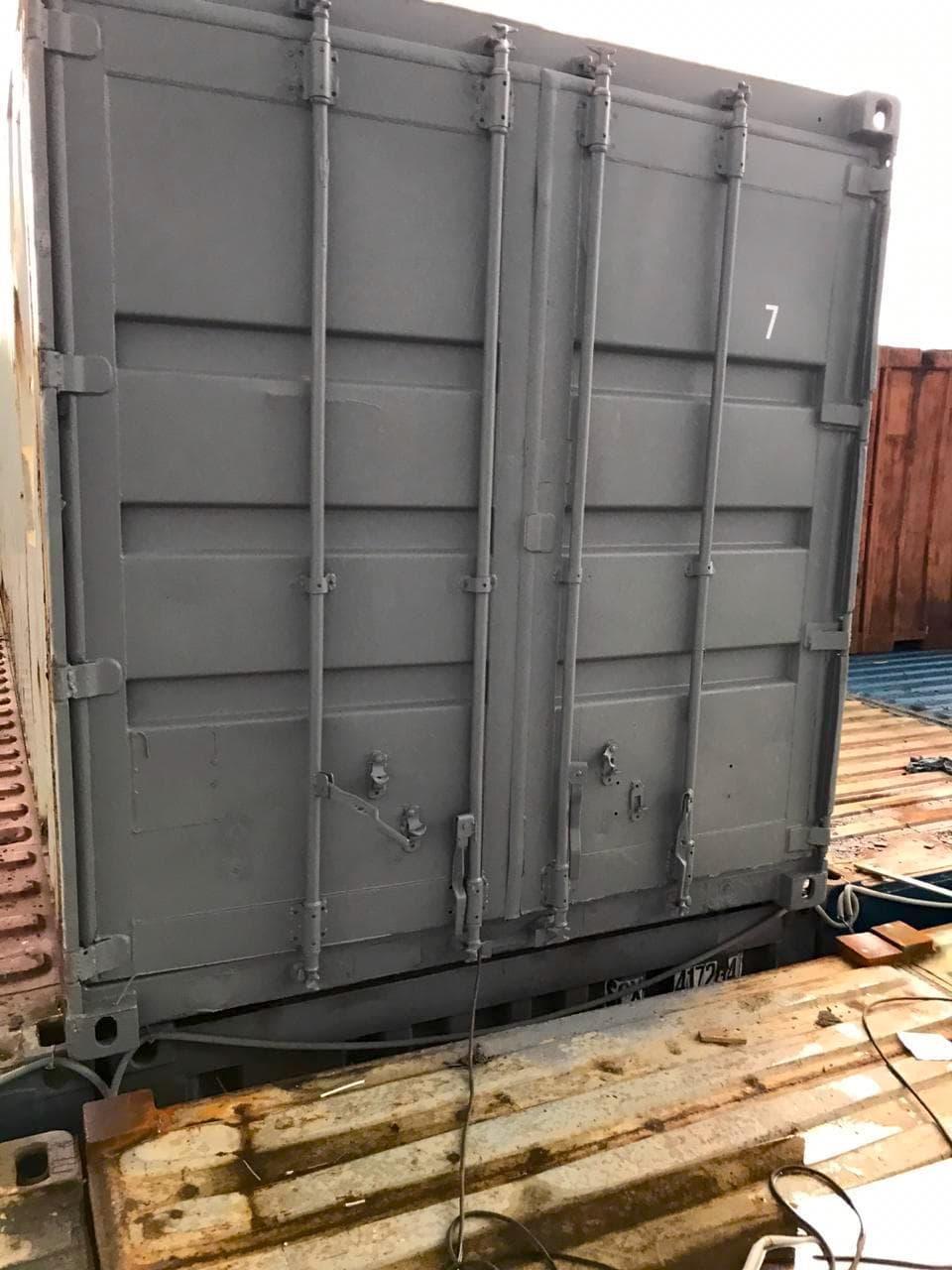 Морской контейнер 40 футов High Cube (40′ HC) высокий фото
