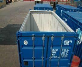 Морской контейнер 20 футов High Cube Hard Top (20′ HCHT) высокий с съемной жесткой крышкой, б/у