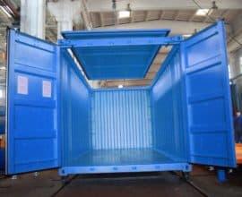 Морской контейнер 20 футов High Cube Hard Top (20′ HCHT) высокий с съемной жесткой крышкой