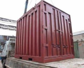 Железнодорожный контейнер 3 тонны, б/у
