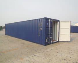 Морской контейнер 40 футов Dry Cube (40′ DC), б/у