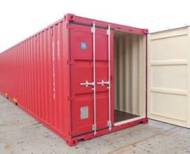 Морской контейнер 40 футов Dry Cube (40′ DC)