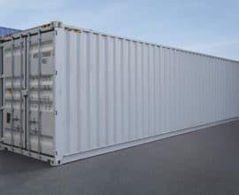 Морской контейнер 40 футов High Cube (40′ HC), б/у