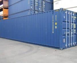 Морской контейнер 40 футов High Cube PalletWide (40′ HCPW) широкий и высокий, новый