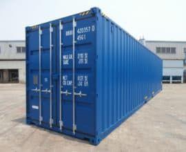 Морской контейнер 40 футов High Cube Double Door (40′ HCDD) с дополнительными торцевыми дверями, новый