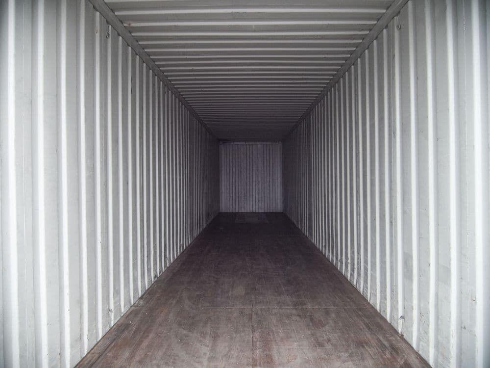 Контейнер 40 футов — 28.4 м²