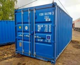 Как можно использовать морской контейнер