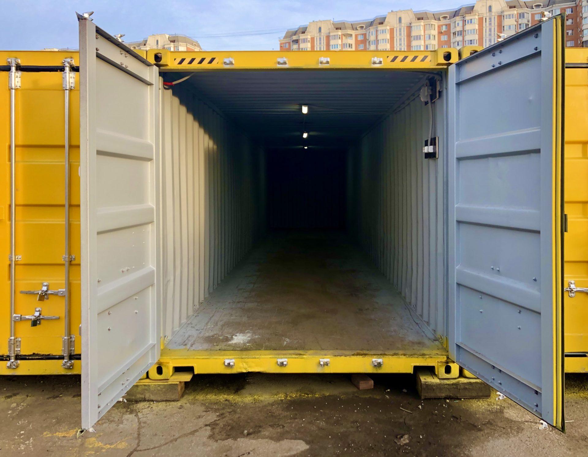 Аренда контейнера 40 футов фото