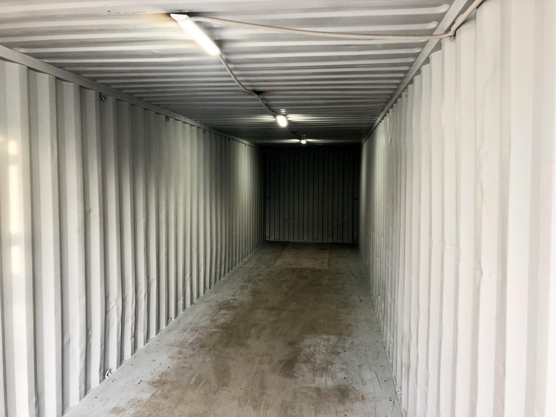 Контейнер под склад 40ф (2-ЧГ) фото