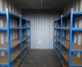Удобство использования контейнера под склад
