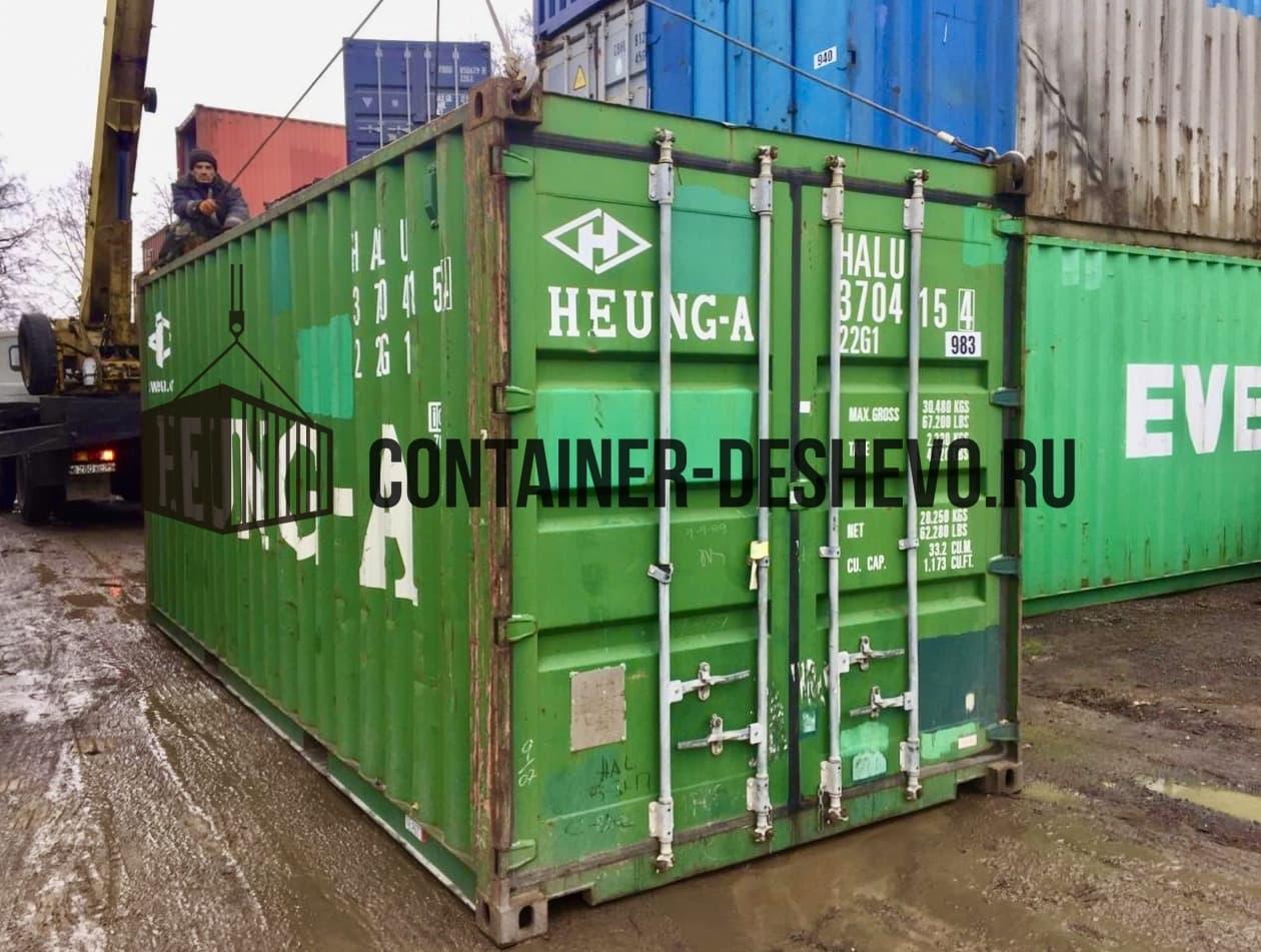 Морской контейнер 20 фт БУ (983) фото