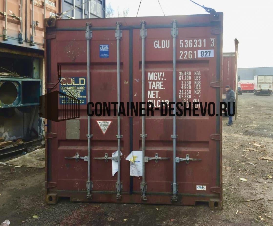 Морской контейнер 20 футов БУ (927) фото