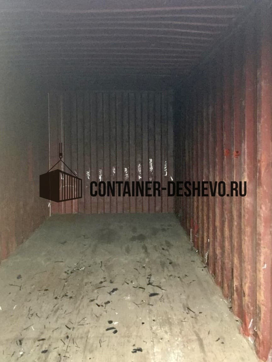 Морской контейнер 20 футов БУ (951) фото