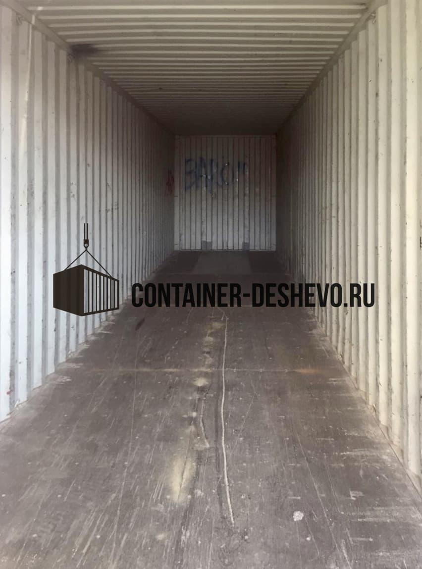 Морской контейнер 40 футов бу HC (878) фото