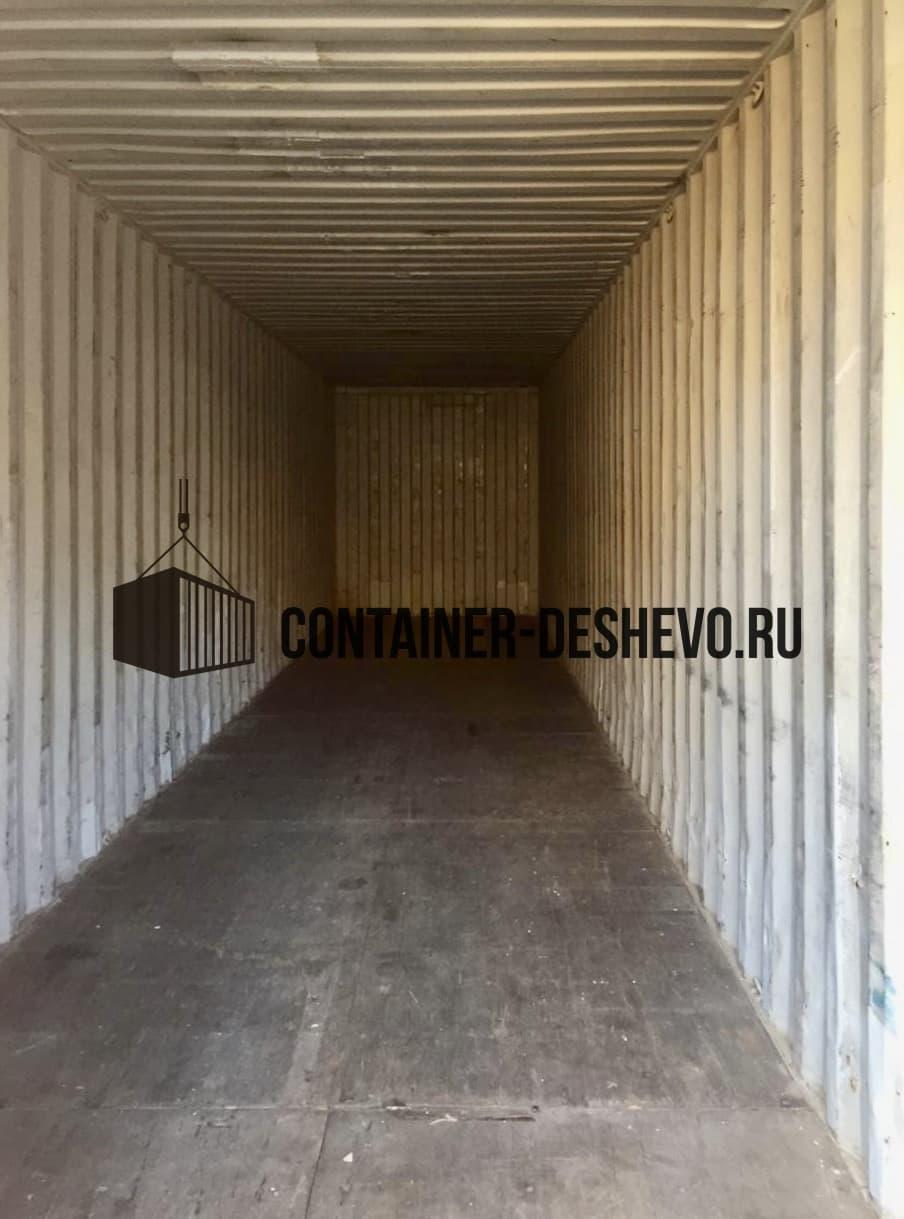 Морской контейнер 40 футов HC БУ (816) фото