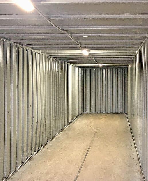 Контейнер под склад 40ф (1-БД) фото