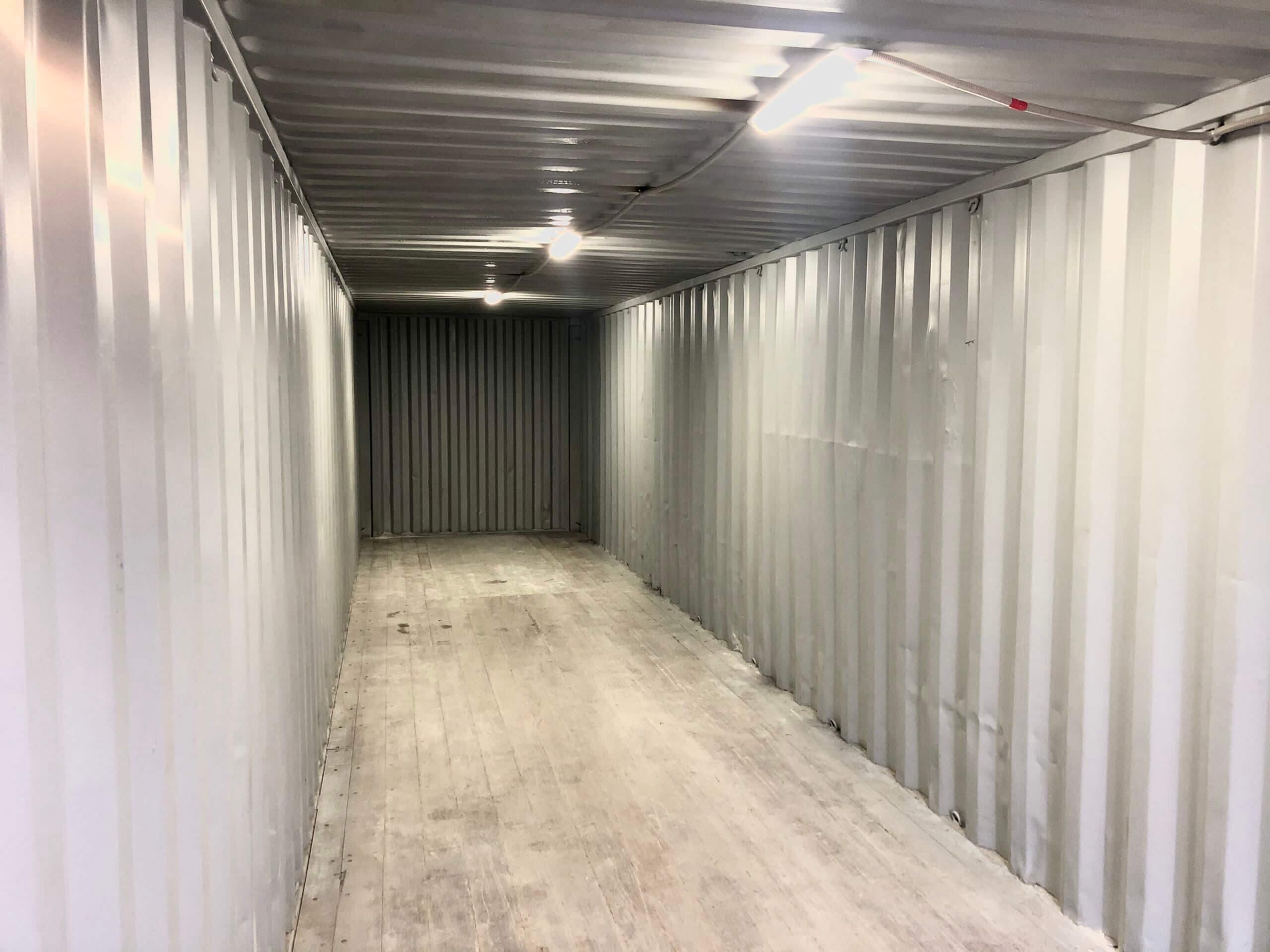 Контейнер под склад 40ф (2-ЮП) фото